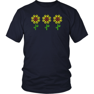 Sunflower Dog Paw Tshirt