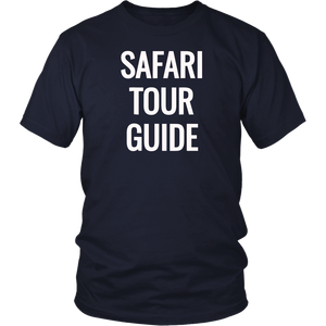 Safari Tour Guide Africa Vacation Kenya Namibia Animal Gift T-Shirt