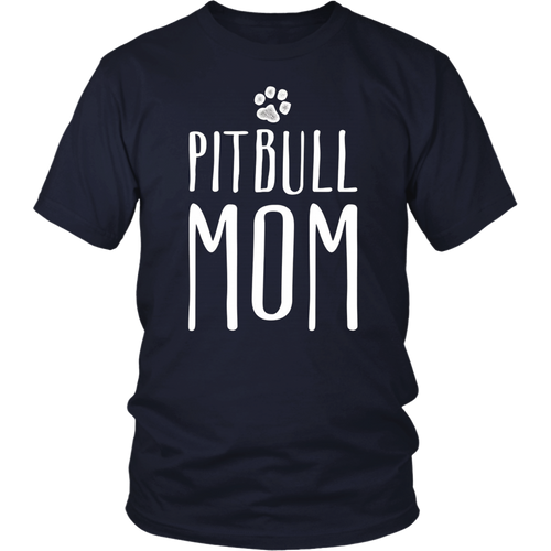 Cute Pitbull Mom T-Shirt