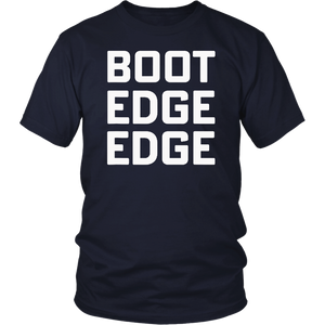 Boot edge edge T-shirt