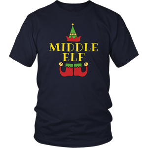 Middle Elf T-Shirt Funny Merry Christmas