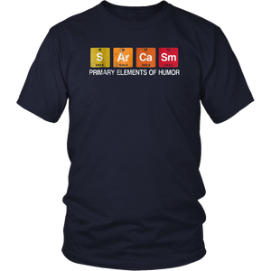 Sarcasm Primary Elements Humor T-shirt