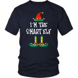 I'm The Smart Elf Funny Christmas Family T-Shirt