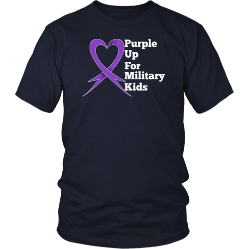 Purple Up For Military Kids Shirt