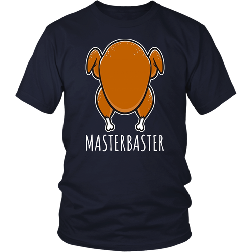 Funny Masterbaster Thanksgiving Turkey Baste Cooking T-Shirt