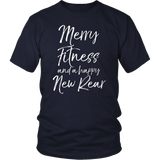 Merry Fitness and a Happy New Rear Shirt Christmas Workout