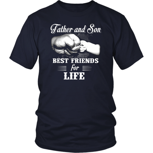 Dad and Son Best Friends For Life Shirt