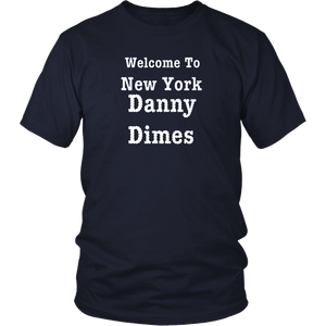 Welcome to New York NYC Danny Dimes Jones! Go get em...