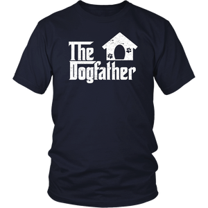 The Dogfather Shirt Dog Dad Fathers Day Dog Lover TShirt