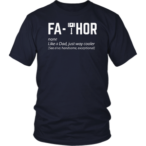 Husband Father Protector Hero T-shirt