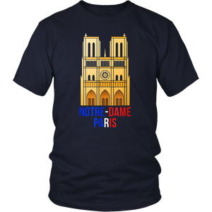 Paris France Notre-Dame Cathedral Shirt