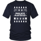 Ugly Sweater Police Navidad Christmas Novelty T-Shirt