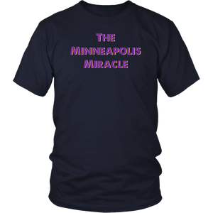 The Minneapolis Miracle distressed Football Helmet t-shirt
