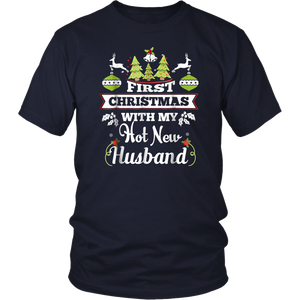 First Christmas With My Hot New Husband Shirt