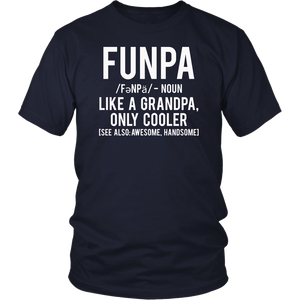 Funpa Funny Definition Noun Grandpa T Shirt
