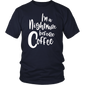 Nightmare Before Coffee T-Shirt Funny Halloween T-Shirt