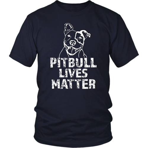 Pitbull Lives Matter Animal Rights Protest T Shirt