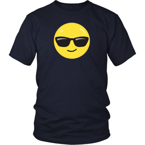 Glass Emoji Face T shirt