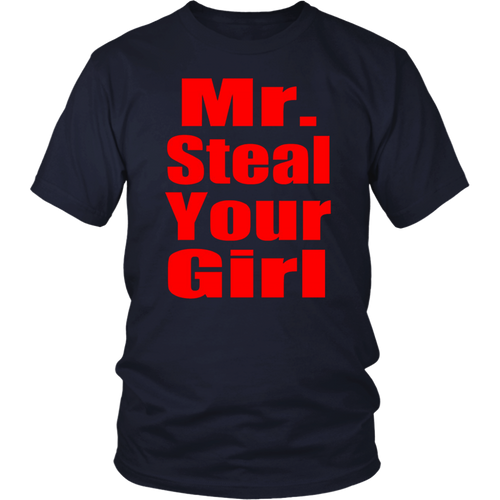 Funny Valentines Day Shirt Mr Steal Your Girl Kids Boys Gift