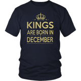 Kings Are Born In December TShirt