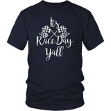 Race Day Shirt It's Race Day Y'all Racing T-Shirt