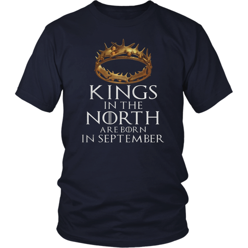 Kings Are Born In September TShirt