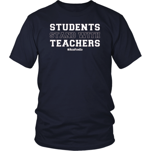 Students Stand With Teachers TShirt