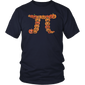 Pumpkin Pi Math Shirt funny Halloween Shirt
