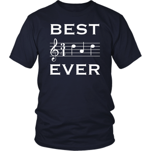 Best Dad Ever Music T-Shirt