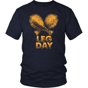 Leg Day Drumstick Workout TShirt