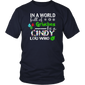 In A World Full Of Grinches Be A Cindy Lou Who T-Shirt Chirstmas T-Shirt