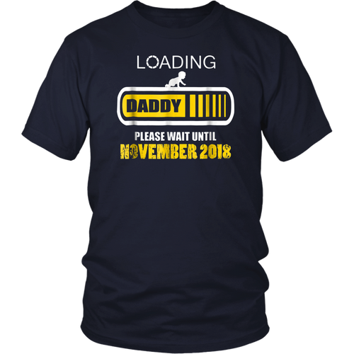 Daddy To Be November Shirt