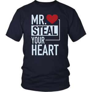 Mr Steal Your Girl Boys T Shirt Funny Valentines Day Gift