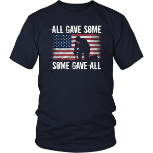 All Gave Some Some Gave All T-Shirt Veteran & Memorial's Day
