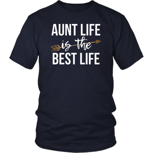 Aunt Life is The Best Life Shirt Sister TShirt