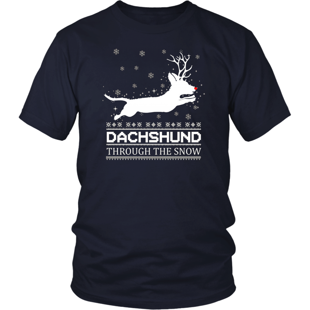 Dachshund Through The Snow TShirt