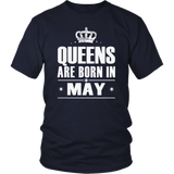 Queens Are Born in May Shirt