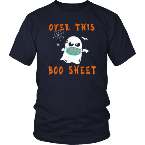 2020 Over This Boo Sheet Halloween Shirt