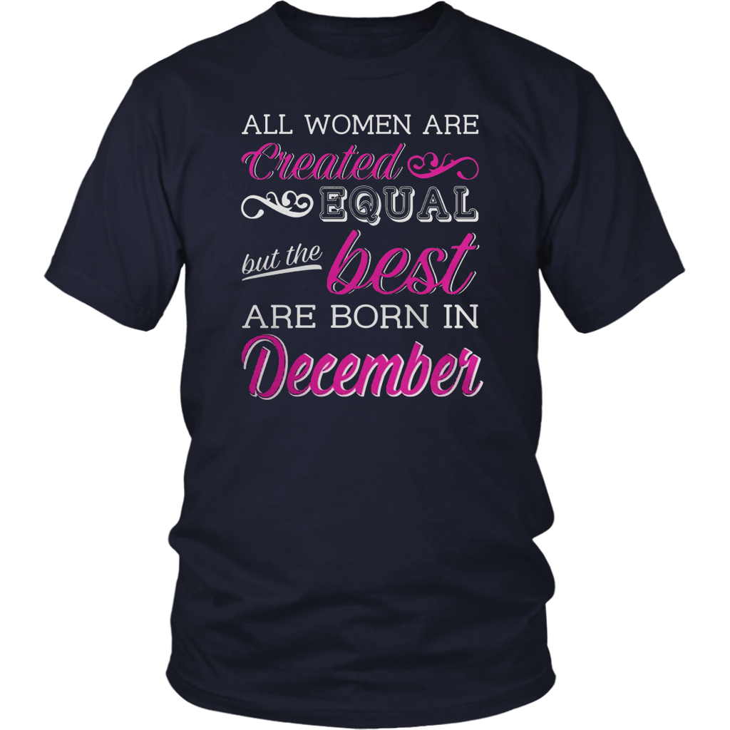 The best Are Born In December TShirts