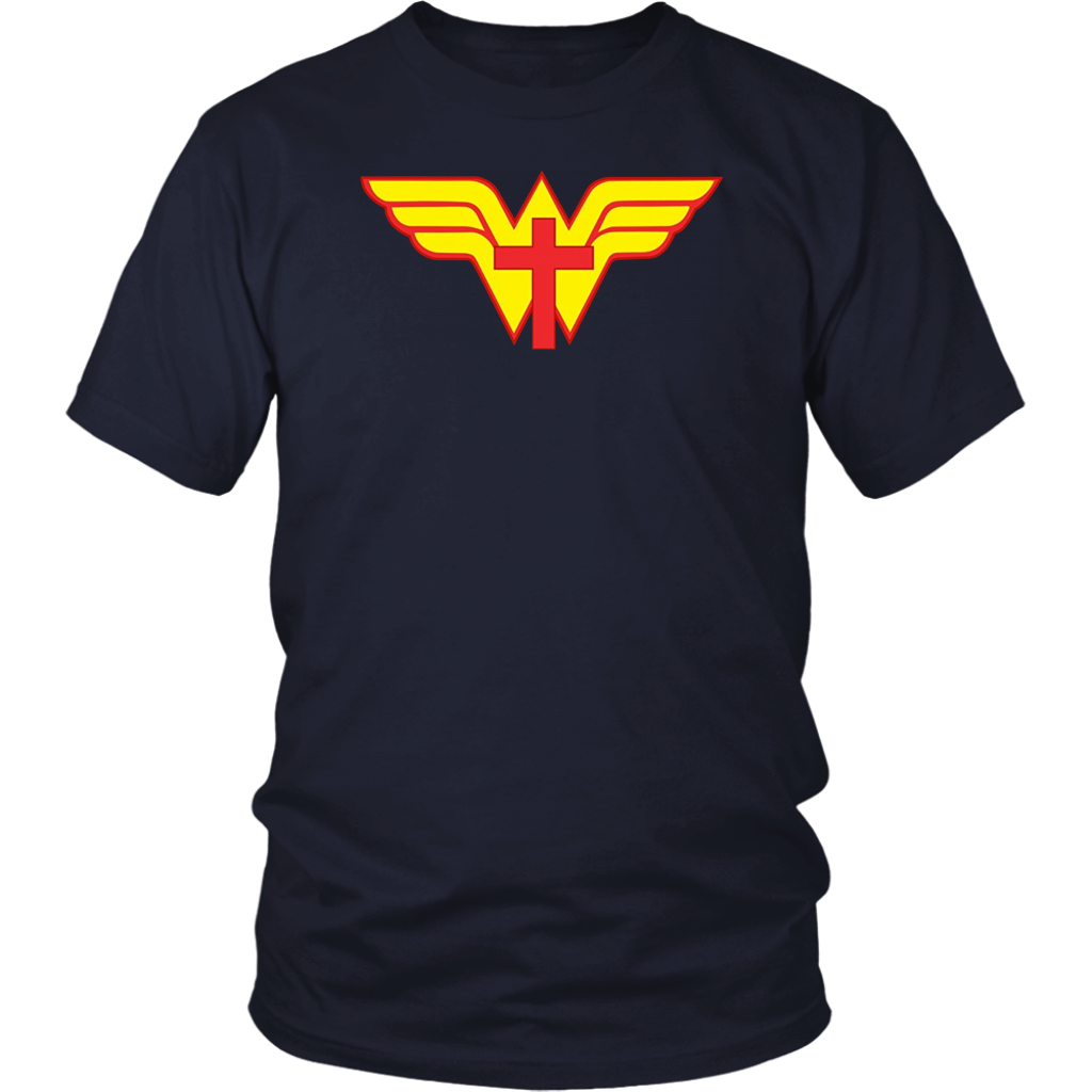 Jesus Is My Superhero Awesome God Flag T Shirt