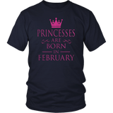 Princesses Are Born In December T-Shirt