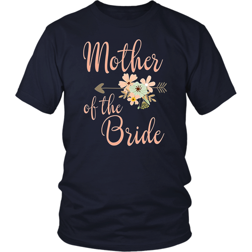 Bridal Party Shirts Mother Of The Bride Faux Gold Diamond
