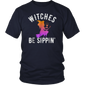 Witches Be Sippin Funny Halloween Drinking Shirt
