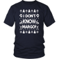 I Don t Know Margo - Funny Christmas Vacation TShirt