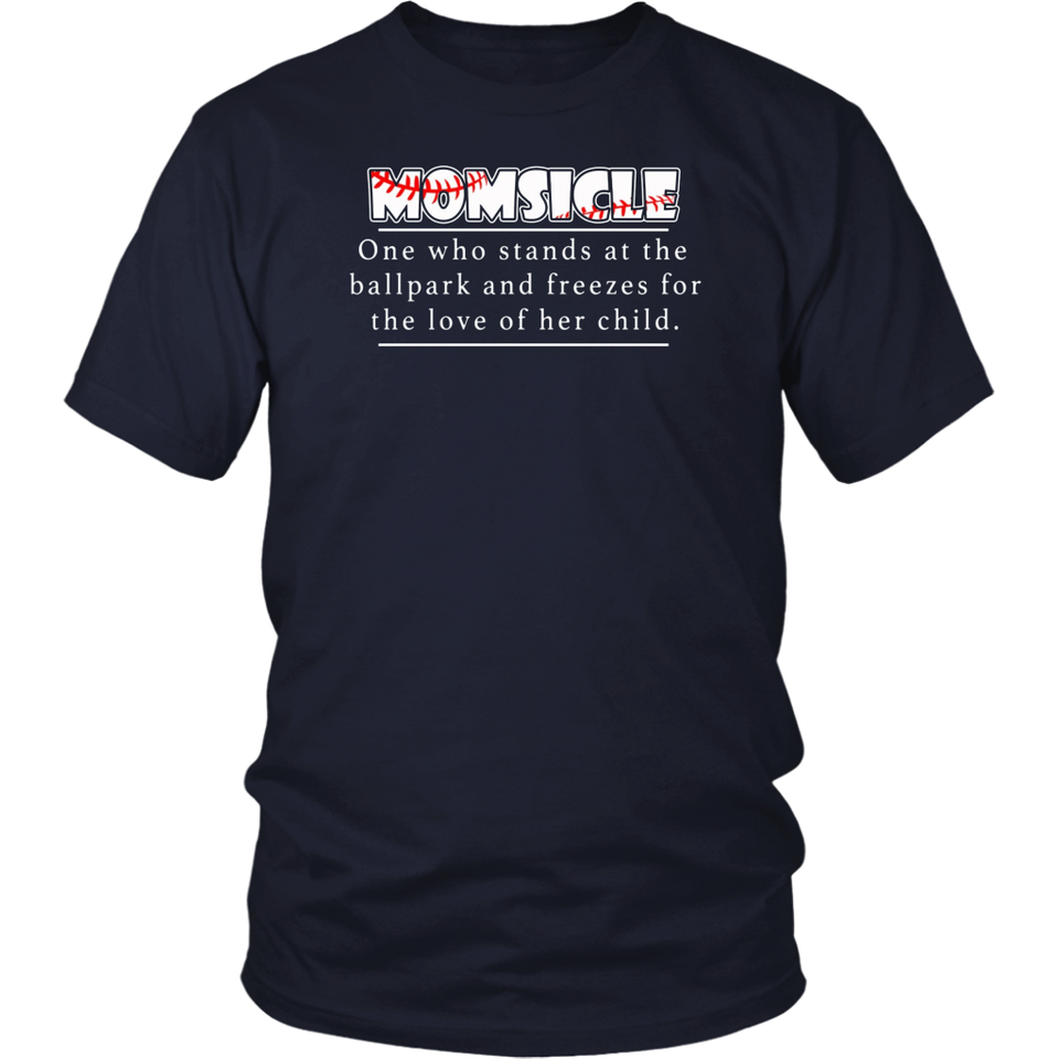 Hockey Mom Momsicle Definition T-Shirt