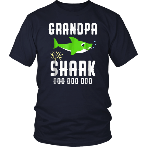 Grandpa Shark Shirt