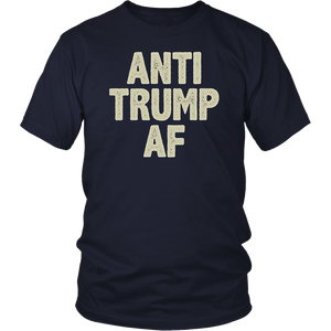 Anti Trump AF funny Impeach Him President T-shirt