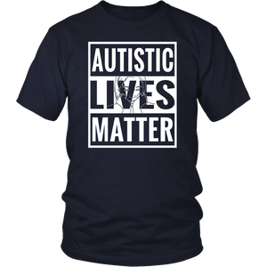 Autistic Lives Matter Autism Awareness Love Strong Tee Shirt