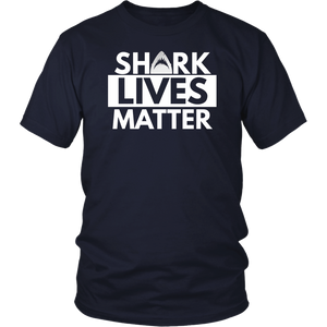 Save The Sharks | Shark Lives Matters | Anti Finning T-Shirt