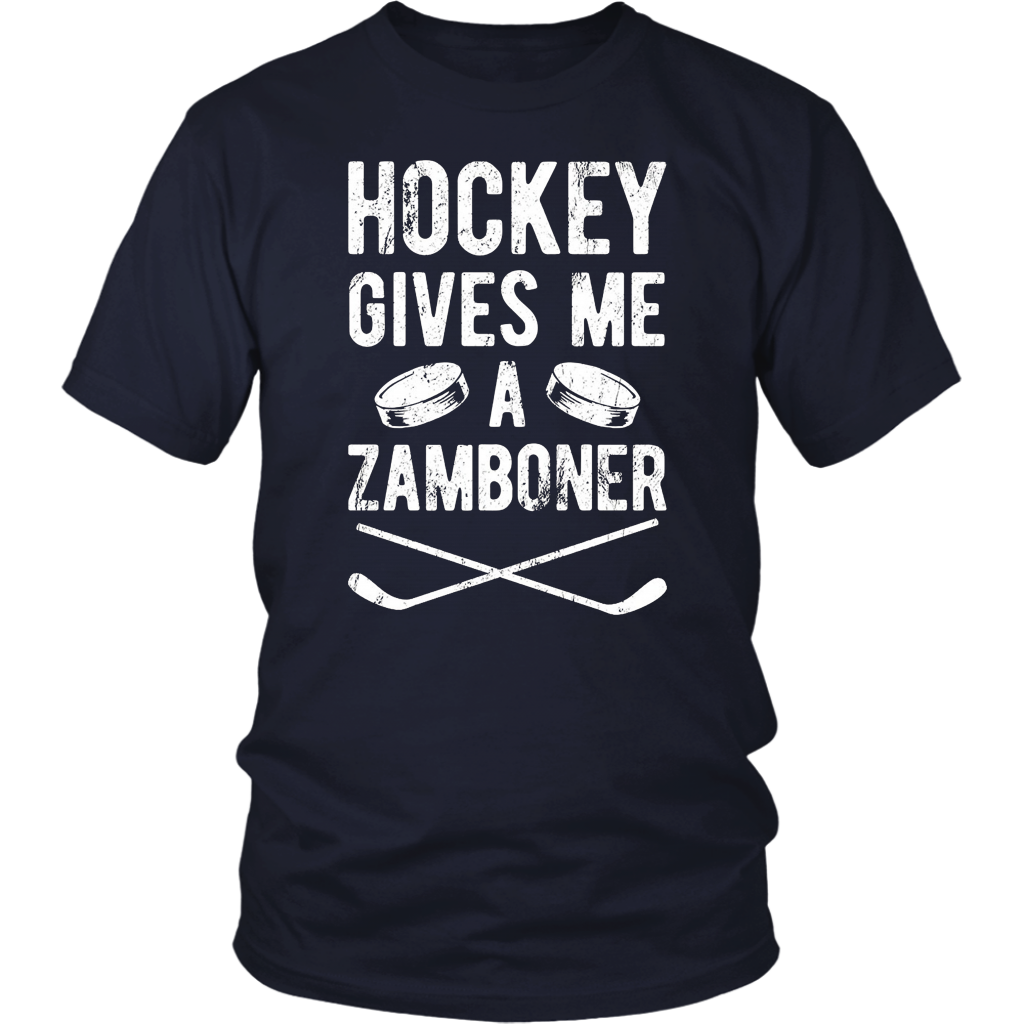 Give Me A Zamboner Funny Ice Hockey Sports Gift T Shirt
